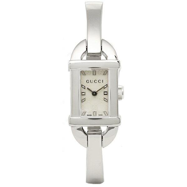 グッチ GUCCI 時計 レディース 腕時計 グッチ 時計 GUCCI 6800シリーズ YA068588 腕時計 ウォッチ ホワイトパール/シルバー