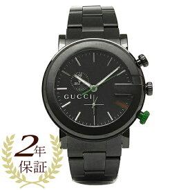 【返品OK】グッチ GUCCI 時計 腕時計 グッチ 時計 メンズ 腕時計 GUCCI YA101331 Gラウンド クロノグラフ ステンレス オールブラック