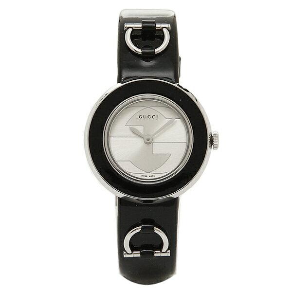 【エントリーでポイント最大19倍】グッチ GUCCI 時計 レディース 腕時計 GUCCI グッチ 時計 YA129514 Uプレイ ホワイト/ブラック/シルバーウォッチ/腕時計 クリスマスセール
