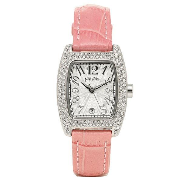 【6時間限定ポイント10倍】フォリフォリ FOLLI FOLLIE 時計 腕時計 FOLLI FOLLIE フォリフォリ S922ZI SLV/PNK シルバー/ピンク レディースウォッチ 腕時計