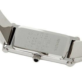 【返品OK】グッチ時計レディース1500シリーズクォーツピンクシルバーGUCCIYA015554