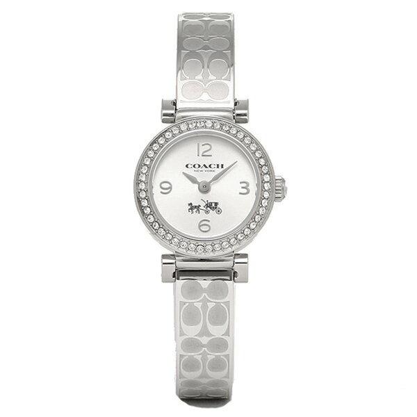 コーチ 時計 レディース COACH 14502201 MADISON FASHION マディソンファッション ブレスレット 腕時計 ウォッチ シルバー