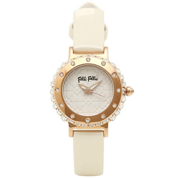 フォリフォリ FOLLI FOLLIE 時計 腕時計 フォリフォリ 時計 レディース FOLLI FOLLIE WF13B067SPW-WH HEART4HEART ハートフォーハート 腕時計 ウォッチ ホワイト/ゴールド