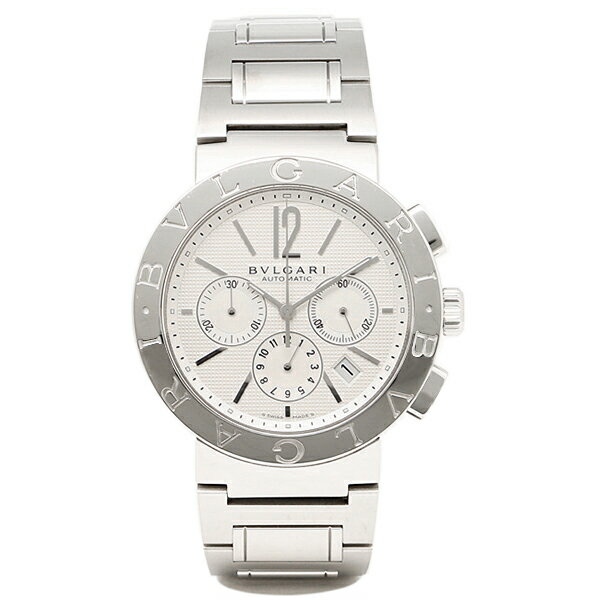 【24時間限定ポイント5倍】ブルガリ BVLGARI 時計 腕時計 メンズ ブルガリ 時計 メンズ BVLGARI BB42WSSDCH 腕時計 ウォッチ シルバー ホワイト