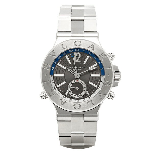 【4時間限定ポイント10倍】ブルガリ BVLGARI 時計 腕時計 メンズ ブルガリ 時計 メンズ BVLGARI DG40C14SSDGMT ディアゴノ 腕時計 ウォッチ シルバー
