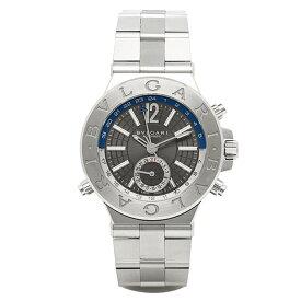 【ポイント10倍 6/20 20時〜24時】ブルガリ BVLGARI 時計 腕時計 メンズ ブルガリ 時計 メンズ BVLGARI DG40C14SSDGMT ディアゴノ 腕時計 ウォッチ シルバー