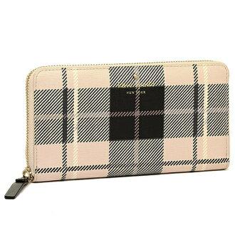 Kate spade purse KATE SPADE PWRU4235 275 FAIRMOUNT SQUARE LACEY long wallet PUMICE MULTI
