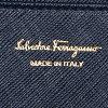 萨尔瓦托雷Ferragamo Salvatore Ferragamo钱包长钱包Ferragamo女士钱包Salvatore Ferragamo 224633 0561510 GANCIO ICONA VITELLO长钱包OXFORD BLUE萨尔瓦托雷Ferragamo