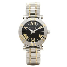 【24時間限定ポイント10倍】ティファニー TIFFANY & Co 時計 腕時計 ティファニー 時計 レディース TIFFANY&Co Z13006816A10A00A 自動巻 ATLAS アトラス 腕時計 ウォッチ ブラック