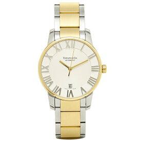 【24時間限定ポイント10倍】ティファニー TIFFANY & Co 時計 腕時計 メンズ ティファニー 時計 メンズ TIFFANY&Co Z18006815A21A00A 自動巻 ATLAS DOME アトラス 腕時計 ウォッチ シルバー
