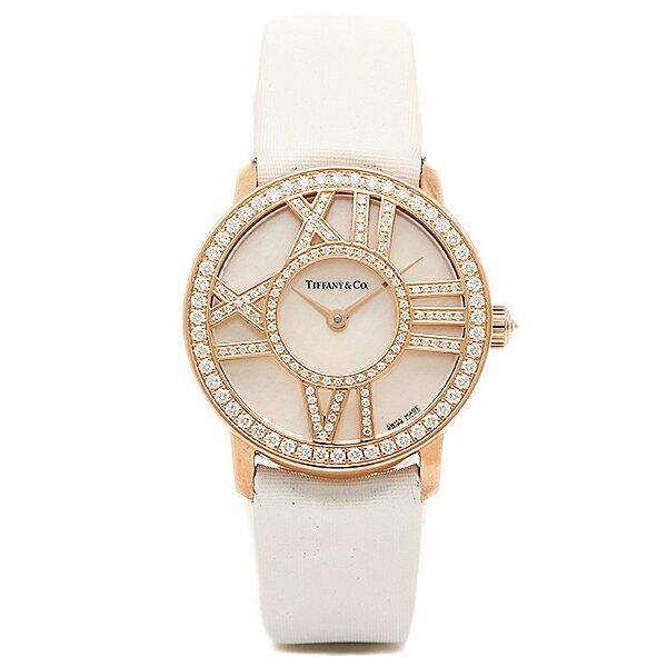 【4時間限定ポイント10倍】ティファニー TIFFANY & Co 時計 腕時計 ティファニー 時計 レディース TIFFANY&Co Z19001030E91A40B ATLAS COCKTAIL ROUND 腕時計 ウォッチ ホワイトパール