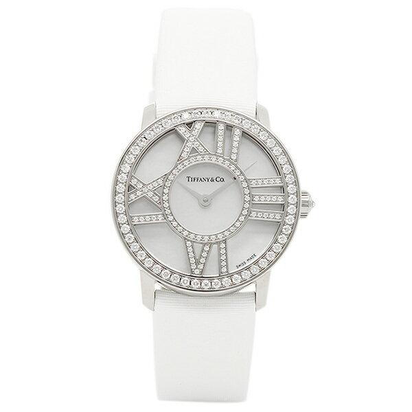ティファニー TIFFANY & Co 時計 腕時計 ティファニー 時計 レディース TIFFANY&Co Z19001040E91A40B ATLAS COCKTAIL ROUND 腕時計 ウォッチ ホワイトパール