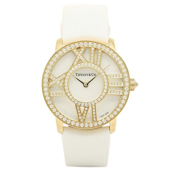 【4時間限定ポイント10倍】ティファニー TIFFANY & Co 時計 腕時計 ティファニー 時計 レディース TIFFANY&Co Z19011050E91A40B ATLAS COCKTAIL ROUND 腕時計 ウォッチ ホワイトパール