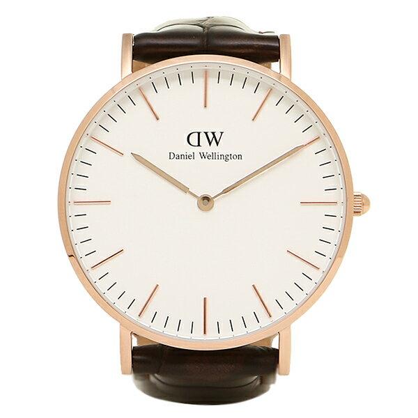 ダニエルウェリントン 時計 メンズ/レディース Daniel Wellington 0510DW CLASSIC 36mm 腕時計 レザー ウォッチ YORK/ROSEGOLD ローズゴールド クリスマスセール