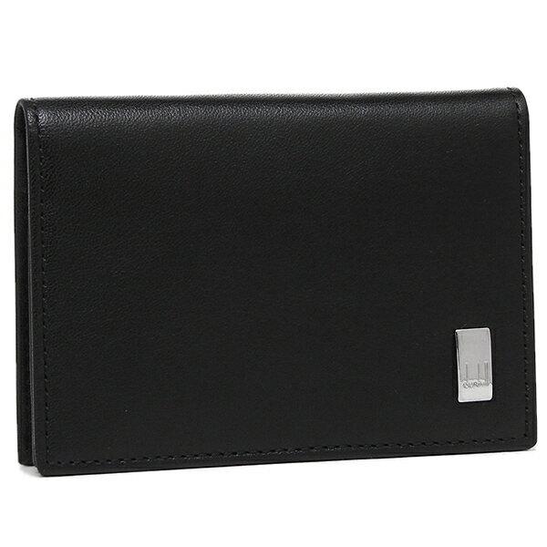 ダンヒル DUNHILL カードケース メンズ ダンヒル DUNHILL QD4700A サイドカー ブラック ビジネスカードケース SIDECAR BLACK BUISINESS CARD CASE ブラック/シルバー