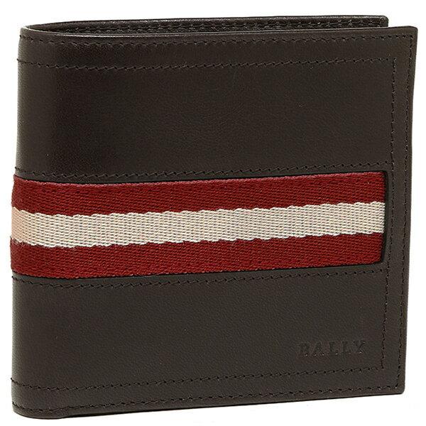 バリー 財布 BALLY 6166595 271 TRAINSPOTTING TYE 2つ折り財布 CHOCOLATE