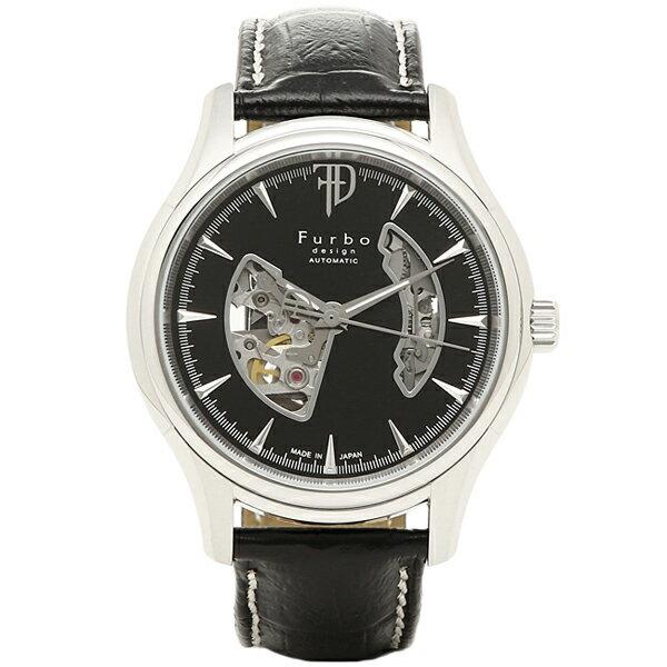 【6時間限定ポイント10倍】フルボデザイン 時計 メンズ Furbo design F5025SBKBK 腕時計 ウォッチ ブラック/ブラック