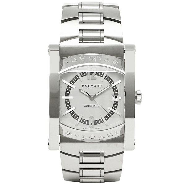 【4時間限定ポイント10倍】 ブルガリ 時計 メンズ BVLGARI AA48C6SSD/JP 102232 アショーマ48MM 自動巻き 腕時計 ウォッチ シルバー