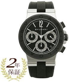 【ポイント10倍 6/20 20時〜24時】ブルガリ 時計 メンズ BVLGARI DG37BSCVDCH 102549 ディアゴノ 自動巻き 腕時計 ウォッチ ブラック