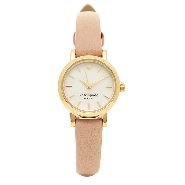 ケイトスペード 時計 レディース TINY METRO メトロタイニー 腕時計 ウォッチ ゴールド/ベージュ 1YRU0372 クリスマスセール
