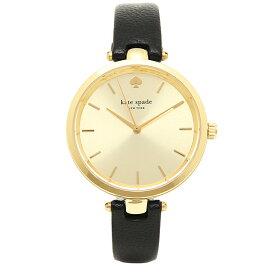 【返品OK】ケイトスペード 時計 レディース ホーランド 34MM クォーツ ゴールド ブラック KATE SPADE 1YRU0811
