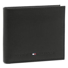 【30時間限定ポイント5倍】TOMMY HILFIGER トミーヒルフィガー 財布 31TL25X005 001 WELLESLEY 2つ折り財布 BLACK