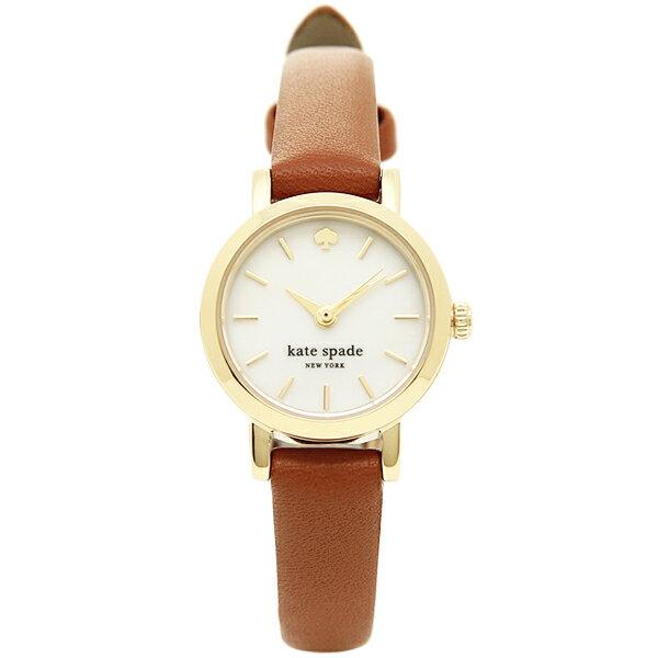 ケイトスペード 時計 レディース KATE SPADE 1YRU0867 TINY METRO STRAP タイニーメトロ 腕時計 ウォッチ ブラウン/ゴールド