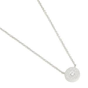 【返品OK】ティファニー ネックレス アクセサリー TIFFANY&Co. 33285973 1837 18K サークル ペンダント ダイアモンド 16in 18K ペンダント ホワイトゴールド/クリア
