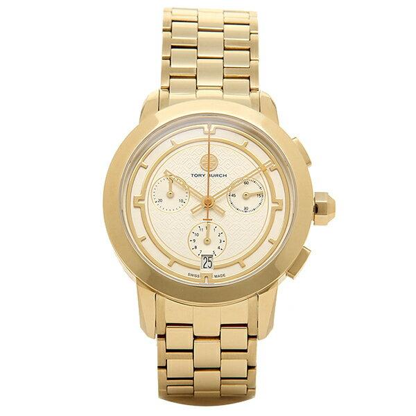 トリーバーチ 腕時計 TORY BURCH TRB1000 レディース アイボリ−/イエロ−ゴ−ルド