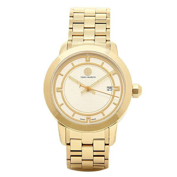 トリーバーチ 腕時計 TORY BURCH TRB1003 レディース アイボリ−/イエロ−ゴ−ルド