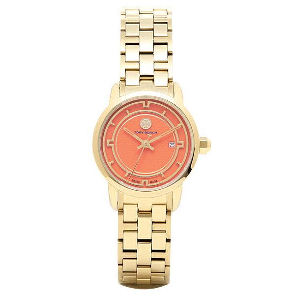 トリーバーチ 腕時計 TORY BURCH TRB1012 レディース オレンジ/イエロ−ゴ−ルド