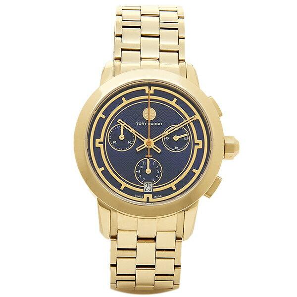 トリーバーチ 腕時計 TORY BURCH TRB1013 レディース ブル−/イエロ−ゴ−ルド
