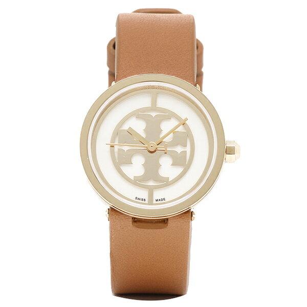 トリーバーチ 腕時計 TORY BURCH TRB4004 レディース イエロ−ゴ−ルド/ホワイト/ブラウン