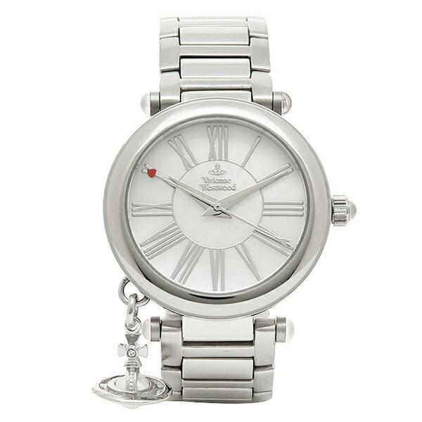 ヴィヴィアンウエストウッド Vivienne Westwood 腕時計 ヴィヴィアン 時計 ヴィヴィアンウエストウッド 時計 レディース VIVIENNE WESTWOOD VV006PSLSL MOTHERORB 腕時計 ウォッチ ホワイトパール/シルバー