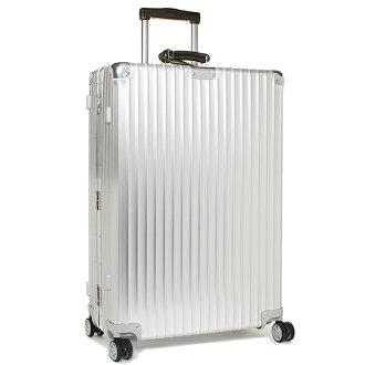 리모와스트케이스 RIMOWA 971.70. 00.4 CLASSIC FLIGHT 클래식 플라이트 74.5 CM 78 L 7~10박용 4륜 TSA 락 캬 리 SILVER