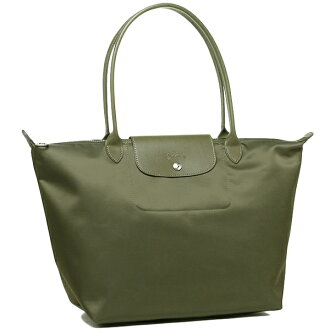 ronshampuriajuneoredisubaggu LONGCHAMP 1899 578 292 LE PLIAGE NEO SHOULDER BAG大手提包KHAKI