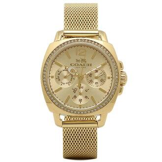 教練手錶COACH 14502490黄色黄金