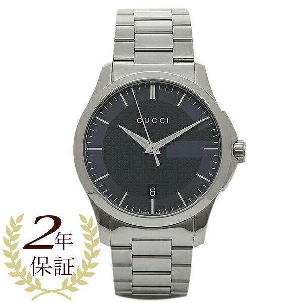 【24時間限定ポイント5倍】グッチ 時計 メンズ/レディース GUCCI YA126440 Gタイムレス 腕時計 ウォッチ ブルー/シルバー