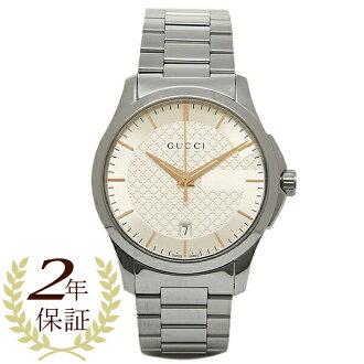 古驰钟表人/女士GUCCI YA126442 G时间没有的手表表银子