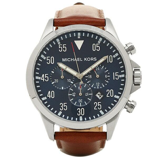 マイケルコース 腕時計 レディース MICHAEL KORS MK8362 ブラウン/ブルー