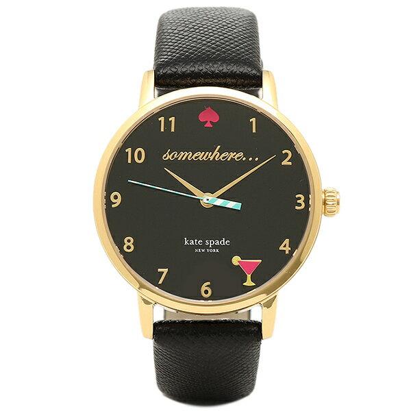 ケイトスペード 腕時計 レディース ブラック KSW1039