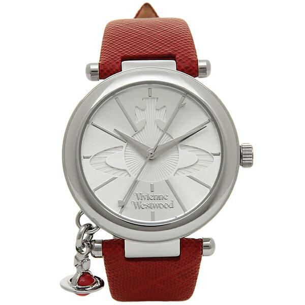 ヴィヴィアンウエストウッド 腕時計 VIVIENNE WESTWOOD VV006SSRD レッド シルバー
