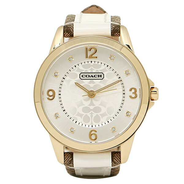 コーチ 腕時計 レディース COACH 14501618 クラシックNEW CLASSIC SIGNATURE ニュークラシックシグネチャー 時計/ウォッチ シルバー