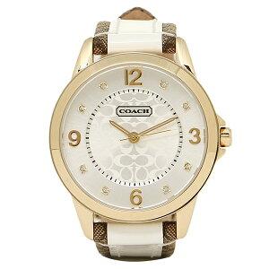 【返品OK】コーチ 腕時計 レディース COACH 14501618 クラシックNEW CLASSIC SIGNATURE ニュークラシックシグネチャー 時計/ウォッチ シルバー