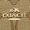 教练COACH长钱包53602 LIC7C黄褐色/棕色
