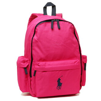 폴로랄프로렌 가방 POLO RALPH LAUREN 950225 CLASSIC PONY BACKPACK LARGE 배낭 백 팩 ULTRA PINK/NAVY PP
