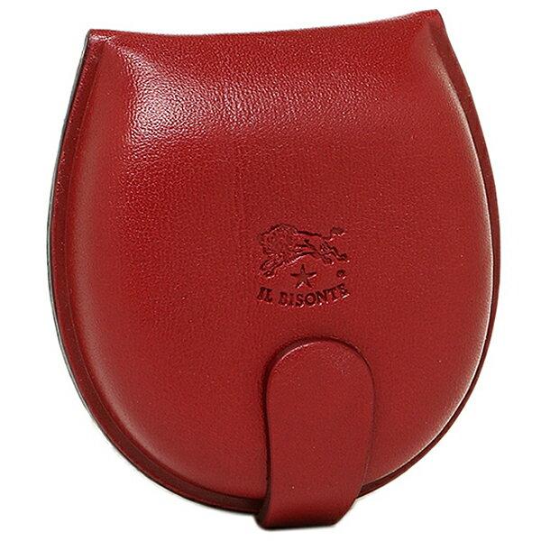 イルビゾンテ 財布 レディース IL BISONTE C0543 P 245 コインケース/小銭入れ ROSSO