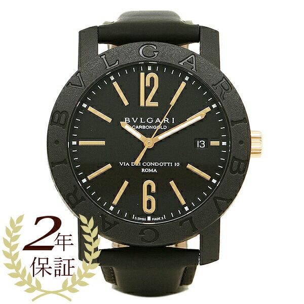 【24時間限定ポイント5倍】ブルガリ 時計 メンズ BVLGARI BBP40BCGLD ブルガリ ブルガリ 腕時計 ウォッチ ブラック