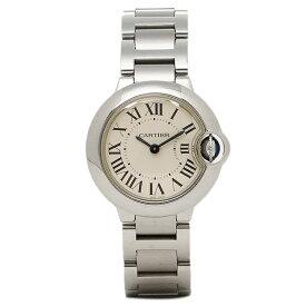 【4時間限定ポイント10倍】カルティエ 時計 レディース CARTIER W69010Z4 バロンブルー SS 腕時計 ウォッチ シルバー/ホワイト