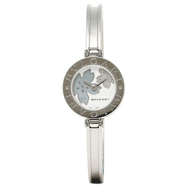 ブルガリ BVLGARI 時計 レディース 腕時計 BVLGARI ブルガリ BZ22FDSS.M B-ZERO1 ビーゼロワン バングル ダイヤモンド フラワー ホワイト/ブルーシェル ウォッチ/腕時計 シリアル有